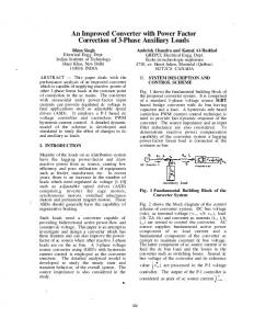 An Improved Converter with Power Factor Correction of 3-Phase ...