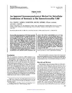 An Improved Immunocytochemical Method for ...