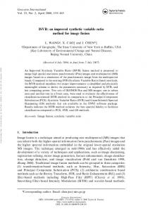 an improved synthetic variable ratio method for