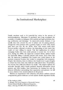 An Institutional Marketplace