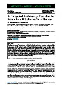 An Integrated Evolutionary Algorithm For Review ...