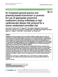 An integrated general practice and pharmacy ... - Semantic Scholar