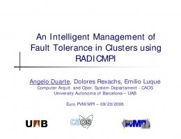 An Intelligent Management of Fault Tolerance in ... - Semantic Scholar