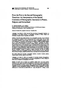An Interpretation of the Spatial Continuity of ... - Springer Link