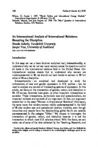 An Intersectional Analysis of International Relations