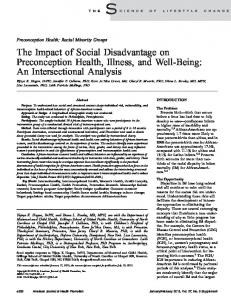 An Intersectional Analysis - SAGE Journals - Sage Publications