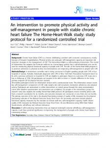 An intervention to promote physical activity and