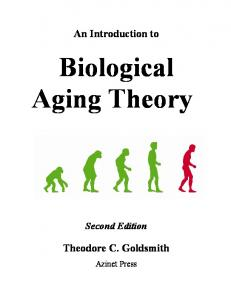 An Introduction to Biological Aging Theory - Azinet
