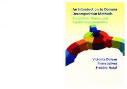 An Introduction to Domain Decomposition Methods