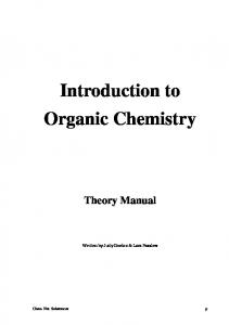 An Introduction to Organic Chemistry - CFFET