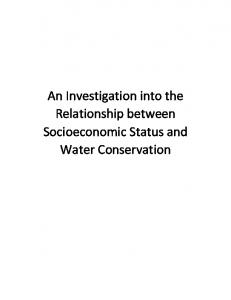 An Investigation into the Relationship between ...