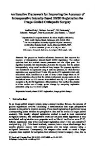 An Iterative Framework for Improving the Accuracy of ... - Springer Link