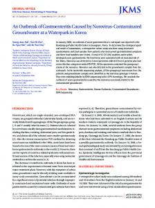 An Outbreak of Gastroenteritis Caused by Norovirus ... - BioMedSearch