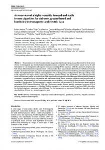 An overview of a highly versatile forward and stable inverse'algorithm ...