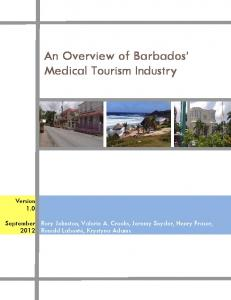 An Overview of Barbados' Medical Tourism Industry - SFU.ca