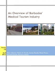 An Overview of Barbados' Medical Tourism Industry - SFU