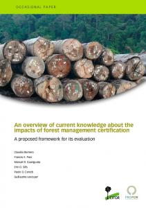 An overview of current knowledge about the impacts of forest ...