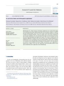 An overview of leech and its therapeutic applications - Journal of ...