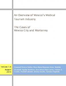 An Overview of Mexico's Medical Tourism Industry - SFU.ca