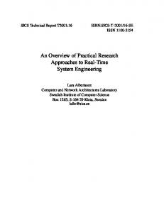 An Overview of Practical Research Approaches to