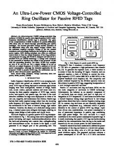 An Ultra-Low-Power CMOS Voltage-Controlled Ring ... - IEEE Xplore