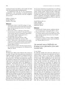 An unusual cause of difficulty confirming correct ... - Springer Link