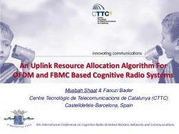 An Uplink Resource Allocation Algorithm for OFDM and ... - phydyas