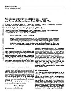 Analysing powers for the reaction $\vec {\rm n}{\rm p}\to {\rm p}{\rm p ...