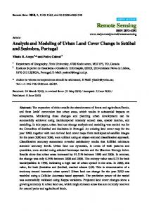 Analysis and Modeling of Urban Land Cover Change in ... - MDPI