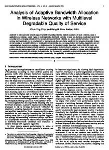 Analysis of Adaptive Bandwidth Allocation in Wireless Networks with ...