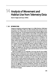 Analysis of Movement and Habitat Use from Telemetry Data