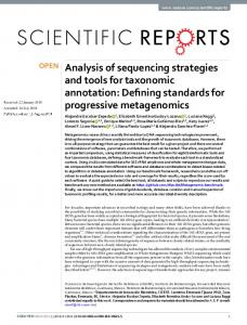 Analysis of sequencing strategies and tools for