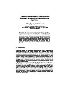 Analysis of Three Intrusion Detection System Benchmark Datasets ...