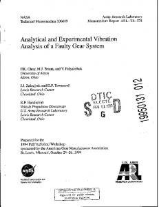 Crash and Vibration Analysis of rotors in a Roots Vacuum