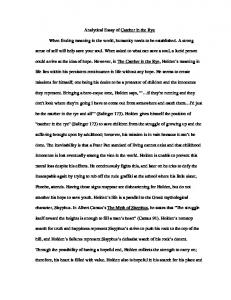 catcher in the rye poetry project com analytical essay of catcher in the rye when finding meaning in the