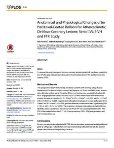 Anatomical and Physiological Changes after Paclitaxel ... - PLOS