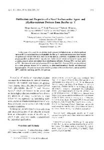 and Alkaline-resistant Protease from Bacillus sp. Y - Semantic Scholar