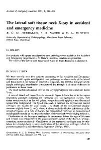 and emergency medicine - Europe PMC