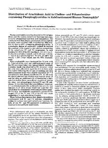 and Ethanolamine - The Journal of Biological Chemistry