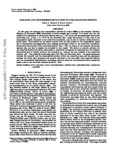 ANELASTIC AND COMPRESSIBLE SIMULATIONS OF STELLAR ...