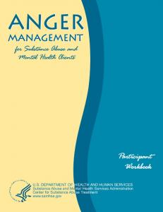 Anger Management for Substance Abuse and Mental Health Clients ...