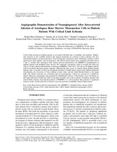 Angiographic Demonstration of Neoangiogenesis After Intra-arterial ...