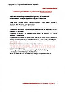 Angiographic demonstration of neoangiogenesis after ...
