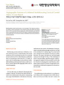 Angiographic Features of Unilateral ... - KoreaMed Synapse