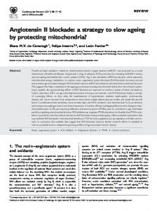 Angiotensin II blockade: a strategy to slow ageing by protecting ...