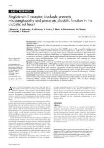 Angiotensin II receptor blockade prevents ... - Heart - BMJ