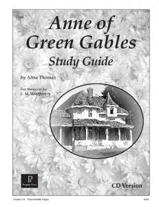 Anne of Green Gables - Rainbow Resource Center