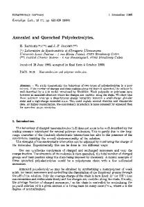Annealed and Quenched Polyelectrolytes.