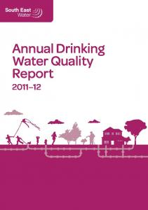 Annual Drinking Water Quality Report