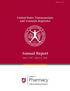 Annual Report - Washington State University